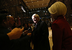 New York: President-elect Donald Trump holds meeting at the Trump Tower, 21 November 2016
