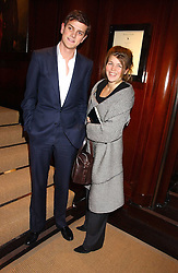 The ALEXANDER SPENCER-CHURCHILL and AMBER NUTTALL at a party at Ralph Lauren, Bond Street, London in support of the NSPCC's Full Stop campaign on 21st March 2006.<br />