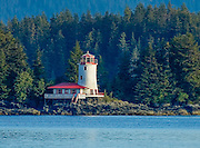 Rockwell Lighthouse in Sitka Alaska