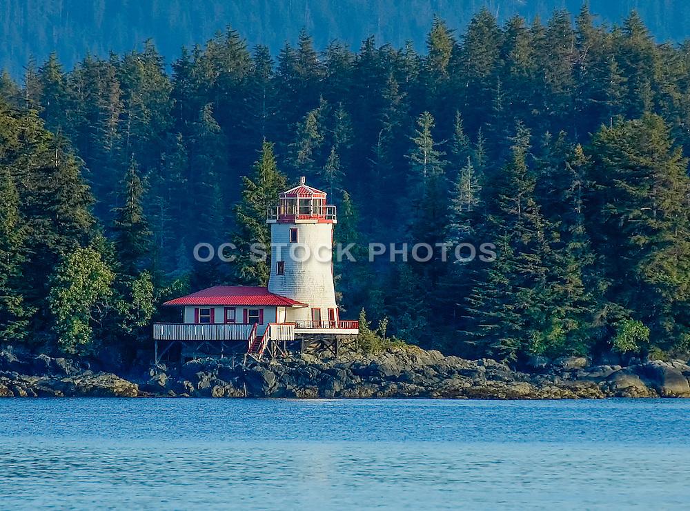 Rockwell Lighthouse in Sitka Alaska