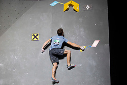 Gregor Vezonik of Slovenia during Man's bouldering semifinal at the IFSC Climbing World Championships Innsbruck 2018, on September 15, 2018 in OlympiaWorld Innsbruck, Austria, Slovenia. Photo by Urban Urbanc / Sportida