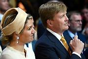 """Koning Willem-Alexander en Koningin Maxima tijdens het streekbezoek aan de achterhoek. Het bezoek staat in het teken van de Achterhoek Agenda 2020, een innovatief voor de toekomst van de Achterhoek dat aansluit op de toekomstvisies van de provincie, de Rijksoverheid en Europa. <br /> <br /> King Willem-Alexander and Queen Maxima visiting the region """"Achterhoek"""". The visit will focus on the Achterhoek Agenda 2020, an innovative for the future of the Achterhoek that meets the future visions of the province, the government and Europe.<br /> <br /> Op de foto / On the photo:  Koning Willem-Alexander en Koningin Maxima bij de opening van  het innovatiecentrum ICER in Ulft / King Willem-Alexander and Queen Maxima at the opening of the  innovation center ICER Ulft"""