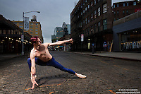 Meat Packing District New York City Dance As Art Photography Project featuring dancer Andy Jacobs