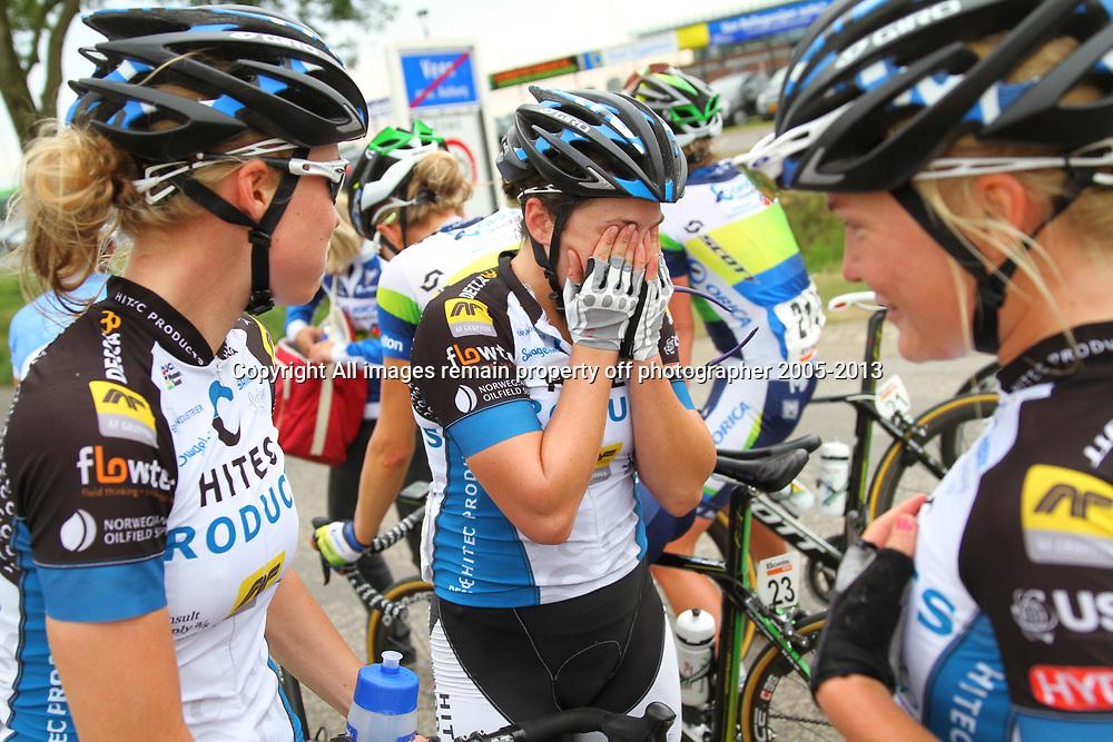 Boels Rental Ladiestour 2013 Zaltbommel-Veen Sfeeriilustratie Chloe Hosking