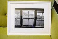Framed Malibu Pier Window.