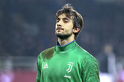 December 15, 2018 - Turin, Piedmont, Italy - Mattia Perin (Juventus FC) before the Serie A football match between Torino FC and Juventus FC at Olympic Grande Torino Stadium on December 15, 2018 in Turin, Italy. Torino lost 0-1 against Juventus. (Credit Image: © Massimiliano Ferraro/NurPhoto via ZUMA Press)