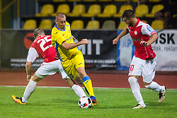Benjamin Morel of NK Domzale during football match between NK Domzale and NK Aluminij in 8th Round of Prva liga Telekom Slovenije 2016/17, on September 9, 2016 in Sportni Park, Domzale, Slovenia. Photo by Ziga Zupan / Sportida
