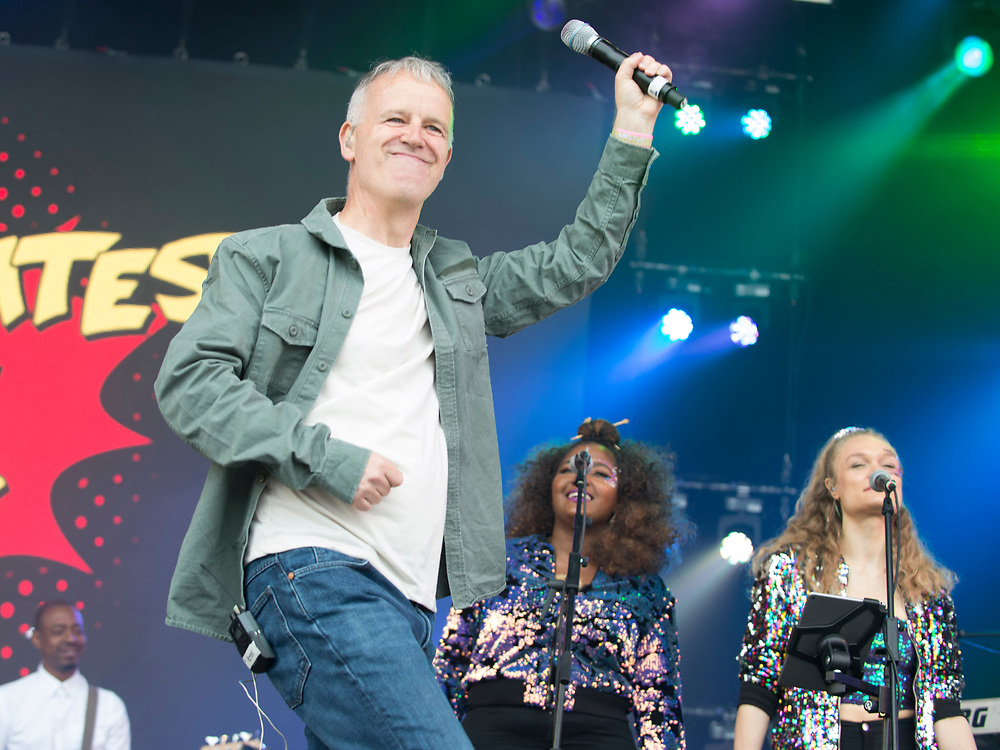 Peter Coyle in concert at Lets Rock Scotland, Dalkeith Country Park, Edinburgh, Great Britain 23rd June 2018
