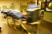 .Hospital St. Louis.Paris..Emergency arrival
