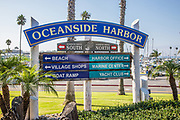 Oceanside Harbor Signage