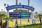 Oceanside Harbor Signage