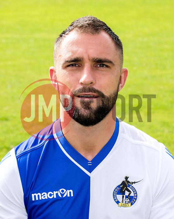 Peter Hartley of Bristol Rovers- Mandatory by-line: Robbie Stephenson/JMP - 04/08/2016 - FOOTBALL - The Lawns Training Ground - Bristol, England - Bristol Rovers Head Shots