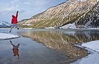 Ankit at Waterfowel Lake, Alberta, Canada, Isobel Springett