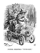 """Father Christmas—""""Up-to-date."""""""