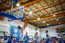 Kucuk Omer of Turkey  during basketball match between National teams of Turkey and Slovenia in the SemiFinal of FIBA U18 European Championship 2019, on August 3, 2019 in Nea Ionia Hall, Volos, Greece. Photo by Vid Ponikvar / Sportida