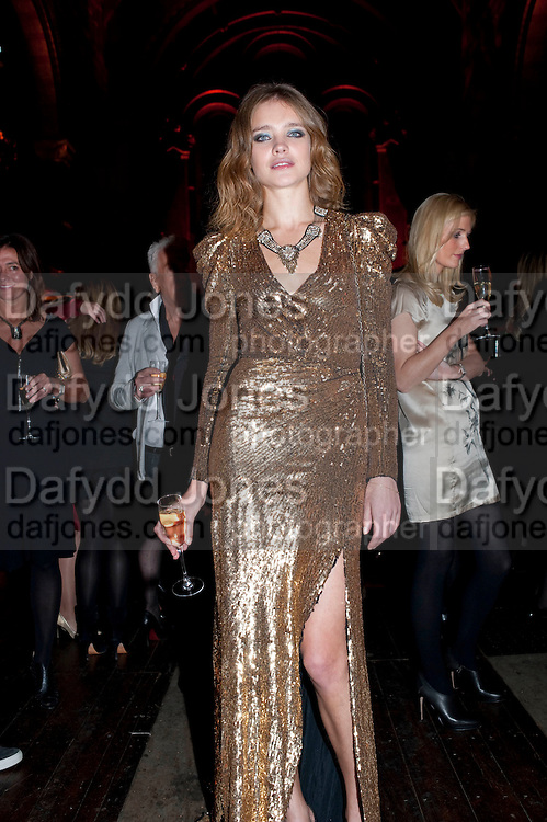 NATALIA VODIANOVA, Harpers Bazaar Women of the Year Awards. North Audley St. London. 1 November 2010. -DO NOT ARCHIVE-© Copyright Photograph by Dafydd Jones. 248 Clapham Rd. London SW9 0PZ. Tel 0207 820 0771. www.dafjones.com.