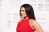 Lisa Cannon  at the 2017 IFTA Film & Drama Awards at the Round Room of the Mansion House, Dublin,  Ireland Saturday 8th April 2017.