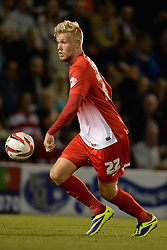 Leyton Orient's Jayden Stockley - Photo mandatory by-line: Mitchell Gunn/JMP - Tel: Mobile: 07966 386802 08/10/2013 - SPORT - FOOTBALL - Brisbane Road - Leyton - Leyton Orient V Coventry City - Johnstone Paint Trophy