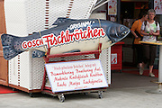 Sylt, Germany. List. Gosch seafood restaurant.