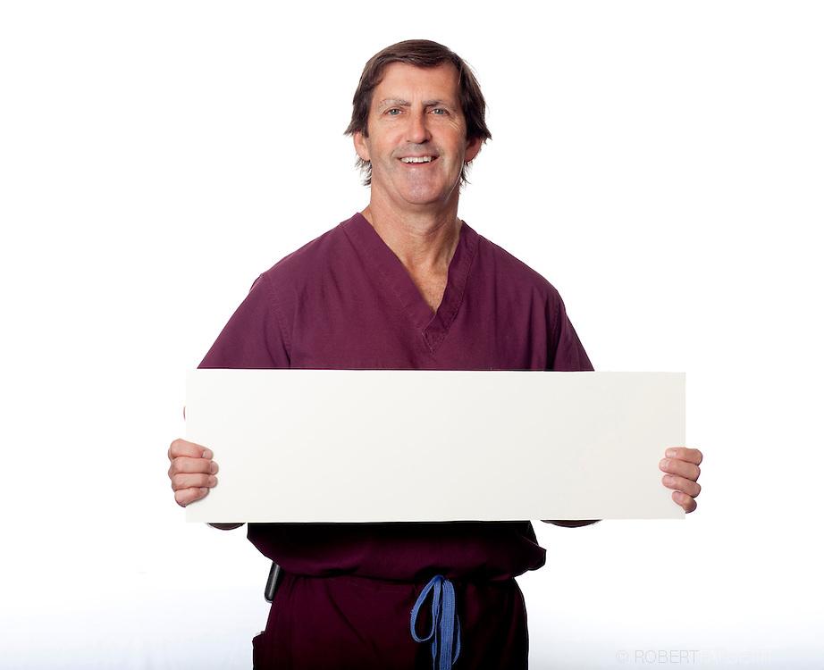 2011 Quality Campaign,  Saint Mary's Hospital. Dr. Steve Widman. (Photo by Robert Falcetti)