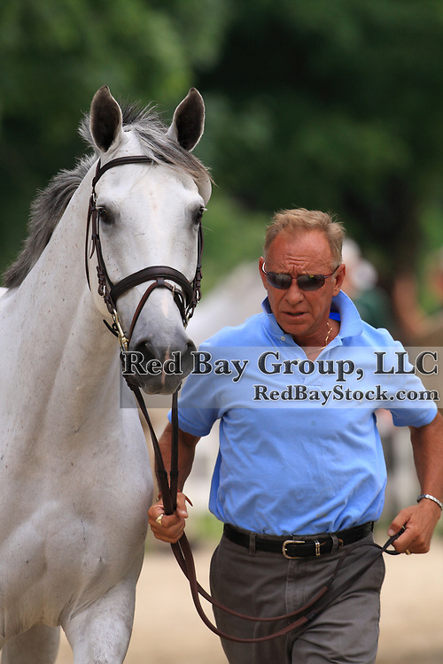 Bruce Davidson and Cruise Lion at the 2009 Maui Jim Horse Trials in Wayne, Illinois.