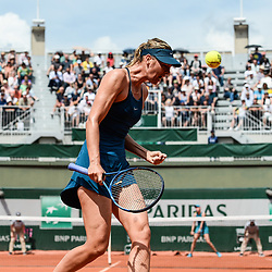 Maria Sharapova of Russia during Day 5 for the French Open 2018 on May 31, 2018 in Paris, France. (Photo by Baptiste Fernandez/Icon Sport)