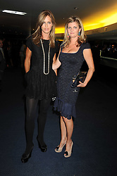 Left to right,  TRINNY WOODALL and SUSANNAH CONSTANTINE at the GQ Men of the Year Awards held at the Royal Opera House, London on 2nd September 2008.<br /> <br /> NON EXCLUSIVE - WORLD RIGHTS