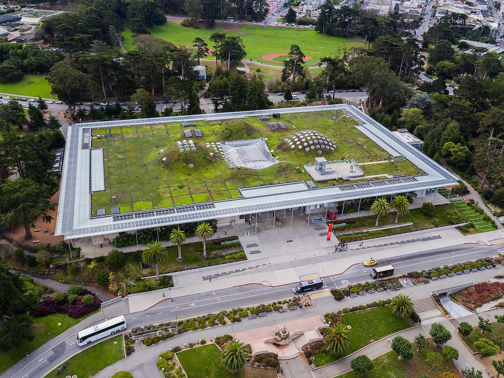 California Academy of Sciences, Golden Gate Park, San Francisco, CA