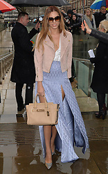 Amber Le Bon arriving at the Topshop Unique catwalk show A/W 2015, at The Topshop Show Space, Tate Britain in London, England during London Fashion Week. 22nd February 2015. Photo by James Warren/Photoshot. EXPA Pictures © 2015, PhotoCredit: EXPA/ Photoshot/ James Warren<br /> <br /> *****ATTENTION - for AUT, SLO, CRO, SRB, BIH, MAZ only*****