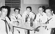 Daniel Doiy in the Navy, no date. circa 1954