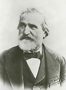 'Giuseppe Verdi (1813-1901) Italian Romantic composer, many of whose operas are standard repertoire in the world's operea houses.'