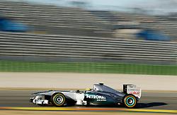 Motorsports / Formula 1: World Championship 2011, Test Valencia,  Nico Rosberg (GER, Mercedes GP Petronas)