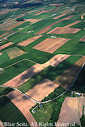 Southcentral Pennsylvania aerial photographs farmlands, cultivation and contour farming, Adams Co. Aerial Photograph Pennsylvania