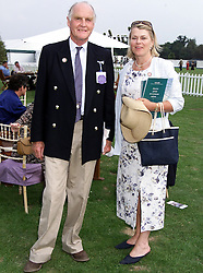 MR & MRS RONALD FERGUSON, he is the father of Sarah, Duchess of York, at a polo match in Berkshire on 25th July 1999.MUM 46