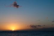 A simple sunset in Waikiki.