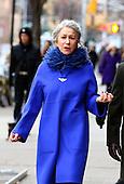 Actress Helen Mirren on set of new Film