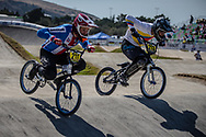 16 Boys #213 (JARRIN VILLA Camilo Daniel) ECU at the 2018 UCI BMX World Championships in Baku, Azerbaijan.