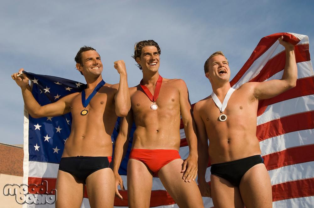Triumphant Swimmers