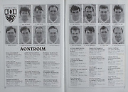 All Ireland Senior Hurling Championship Final,.03.09.1989, 09.03.1989, 3rd September 1989, .Antrim v Tipperary, .03091989AISHCF,.Tipperary 4-24, Antrim 3-9,..Antrim, Niall Patterson, Gary O'Kane, Terry Donnelly, Dessie Donnelly, James McNaughton, Dominic McKinley, Leonard McKeegan, Paul McKillen, Dominic McMullan, Brian Donnelly, Aidan McCarry, Olcan McFetridge, Donal Armstrong, Ciiaran Barr, Terence McNaughton,