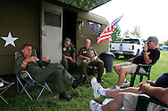 john walker, left, american huey 369 Kokomo Indiana Vietnam Veterans Reunion 2012