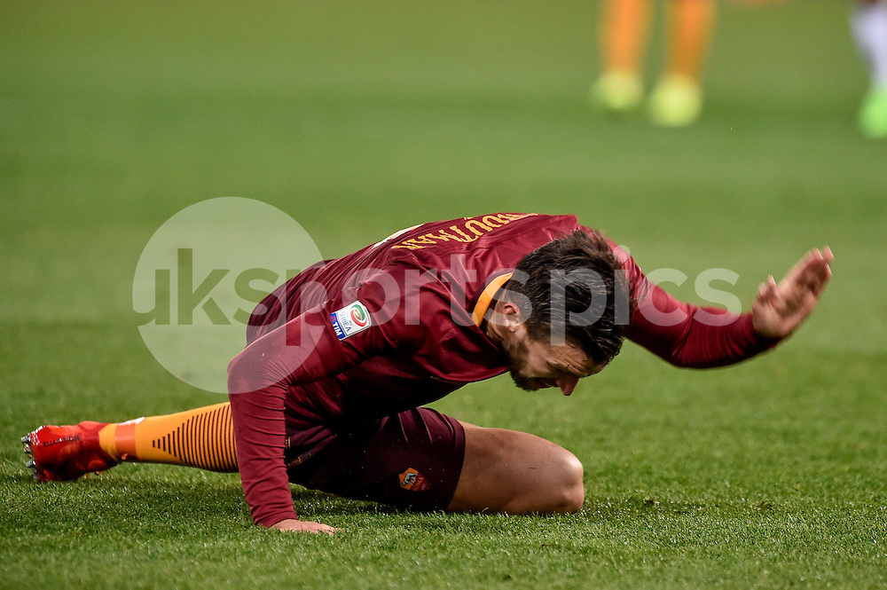 Kevin Strootman of AS Roma during the Serie A match between Roma and Torino at Stadio Olimpico, Rome, Italy on 19 February 2017. Photo by Giuseppe Maffia.