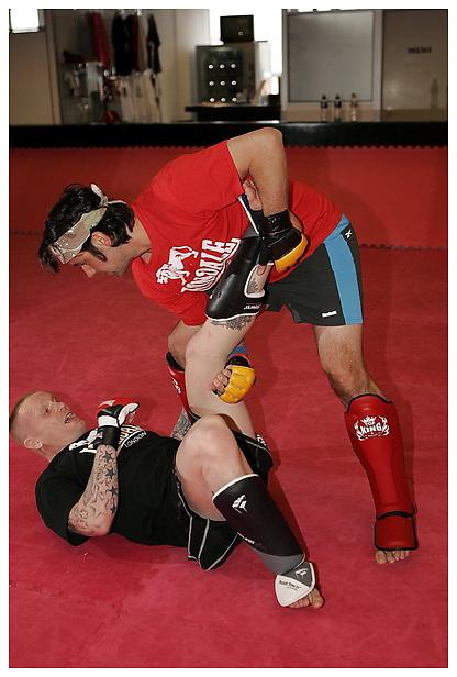 Jimmy Wallhead shoot for BAMMA / Lonsdale. Muscle & Fitness. 25-1-2012...