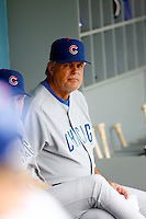 22 August 2009: Cubs Manager Lou Piniella during the MLB National League Chicago Cubs 2-0 loss to the Los Angeles Dodgers at Chavez Ravine. The Cubs baseball club has new ownership with the Ricketts Family, manager Lou Piniella  hopes to complete his contract into 2010. Dodgers are 3-0 in this series at home in LA.