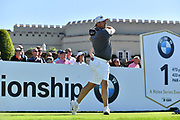 Golfer Lee Westwood during the BMW PGA Championship at Wentworth Club, Virginia Water, United Kingdom on 18 September 2019.