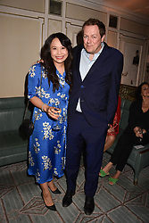 Tom Parker Bowles and Ching He Huang at the Fortnum & Mason Food and Drink Awards, Fortnum & Mason Food and Drink Awards, London, England. 10 May 2018.