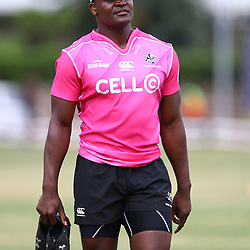 Chiliboy Ralepelle during the cell c sharks pre season training session at  Growthpoint Kings Park ,25,01,2018 Photo by Steve Haag)