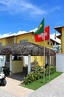 Football Fifa Brazil 2014 World Cup / <br /> Guest House and Training Center of Switzerland ( Porto Seguro - Muta Beach / Bahia , Brazil ) -<br /> La Torre Resort - Porto Seguro - Muta Beach , The exclusive and reserved Area for the Swiss Delegation, <br /> located in the inside of large tourist complex , In the images The reserved entrance to the buildings where will host Suisse players