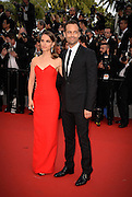 NATALIE PORTMAN & BENJAMIN MILLEPIED - OPENING THE 68th CANNES FILM FESTIVAL - RED CARPET ' HIGH HEAD '<br /> ©Exclusivepix Media