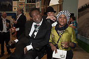 YINKA SHONIBARE; RON ARAD, SONIA BOYCE 2019 Royal Academy Annual dinner, Piccadilly, London.  3 June 2019
