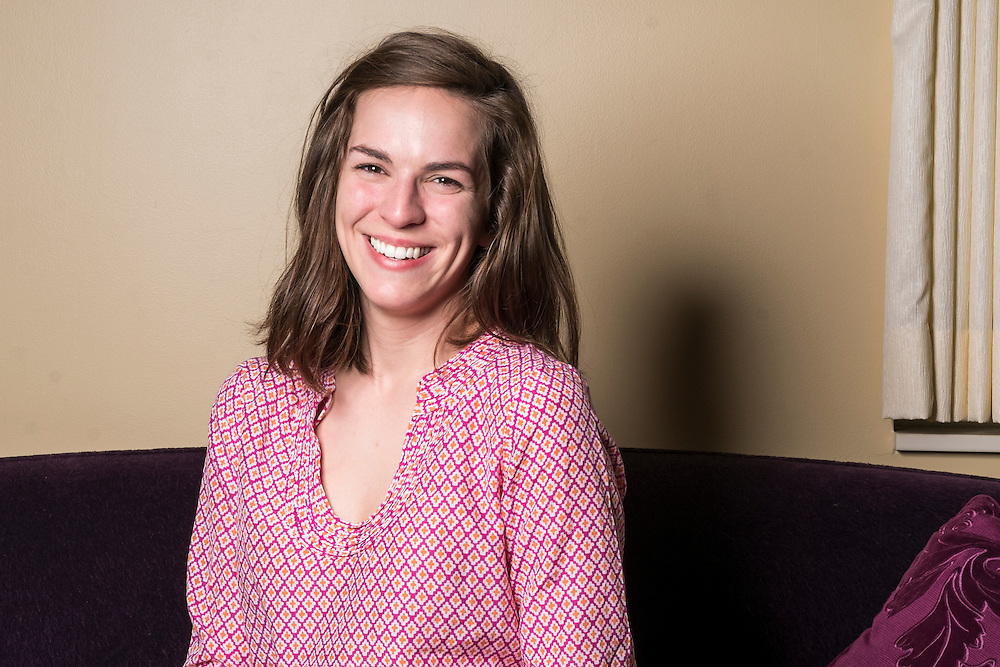 Emily Burns location portraits in the Baker Center Women's Center created for Women's and Gender Studies on April 10, 2015.  Photo by Ohio University  /  Rob Hardin